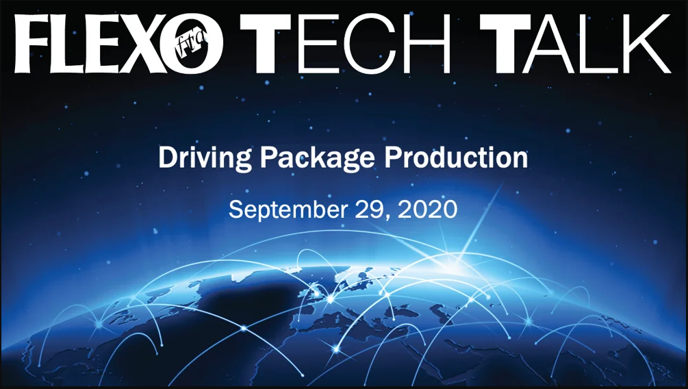 flexo tech talk - driving package production