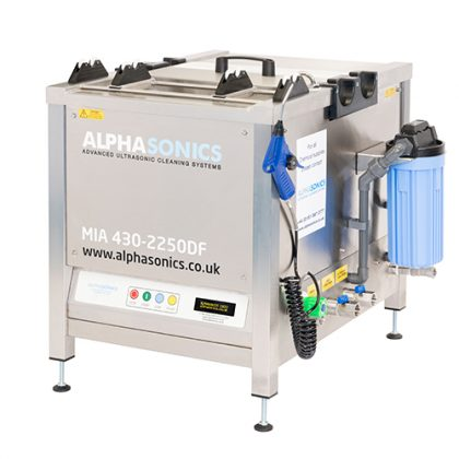 mia ultrasonic cleaning system