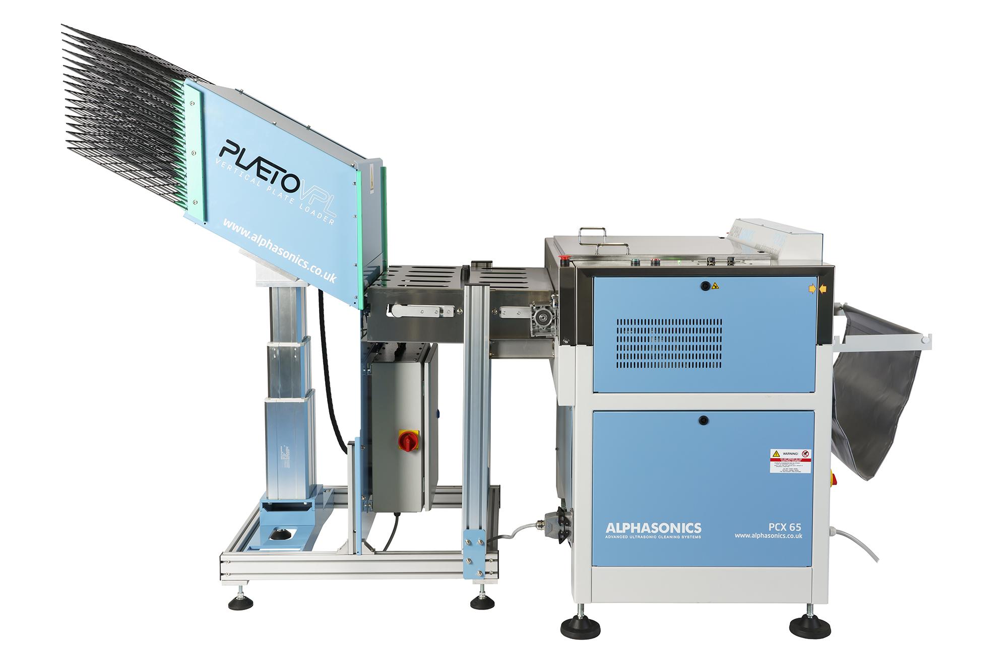 plaeto vertical loading machine